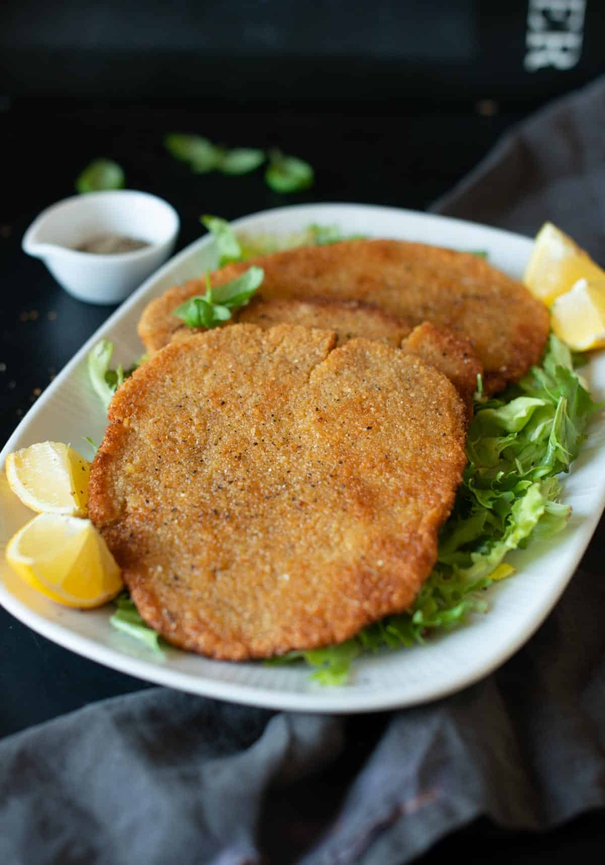 Image of the chickpea cutlets