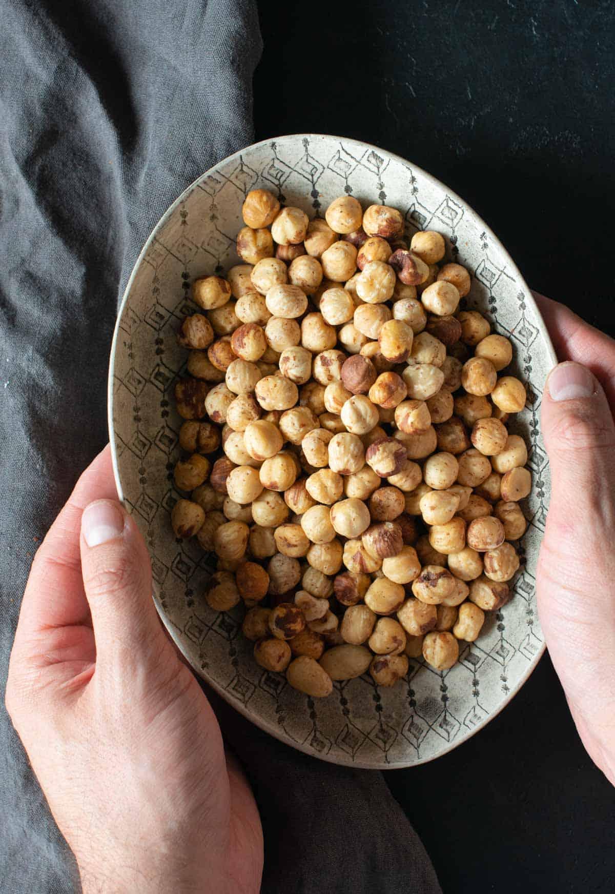 Image of the hazelnuts