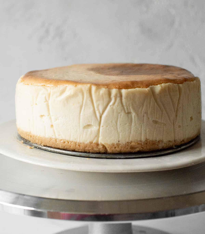Image: easy vegan cheesecake recipe