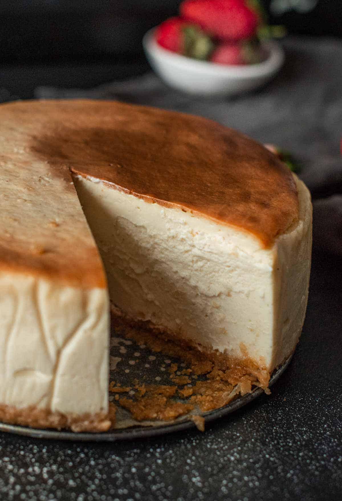 Image: best ever vegan cheesecake