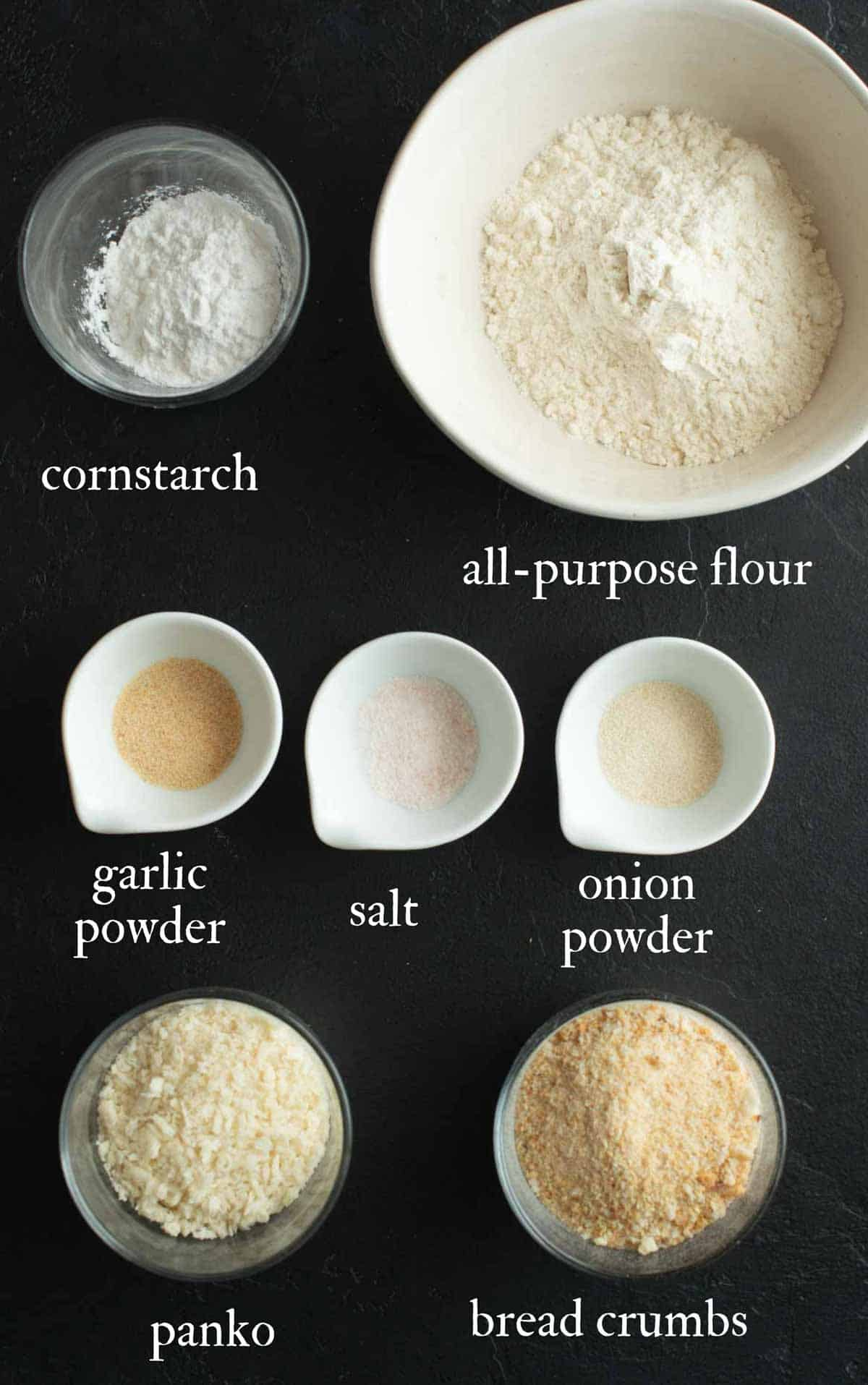 List of the ingredients used for this recipe