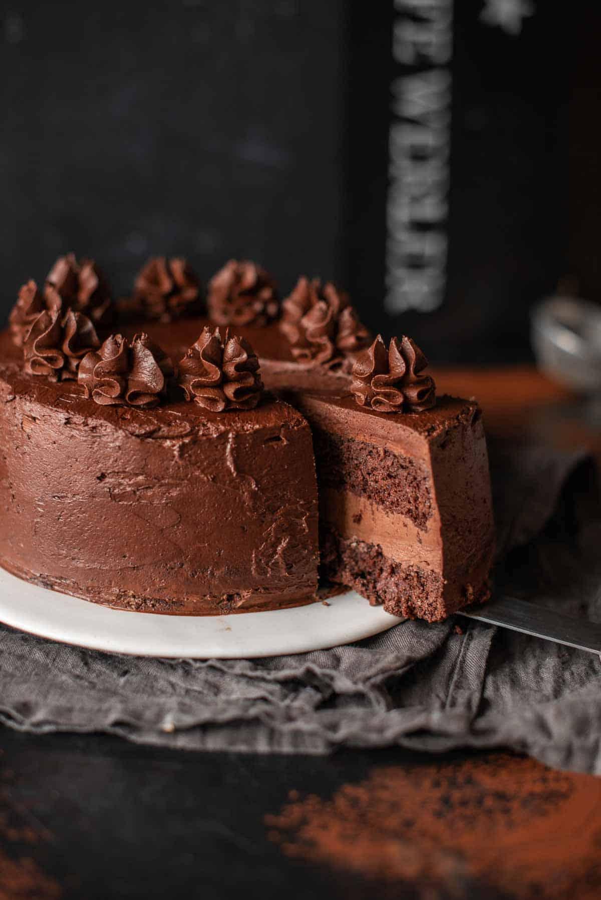 Bild: Kuchen geschnitten