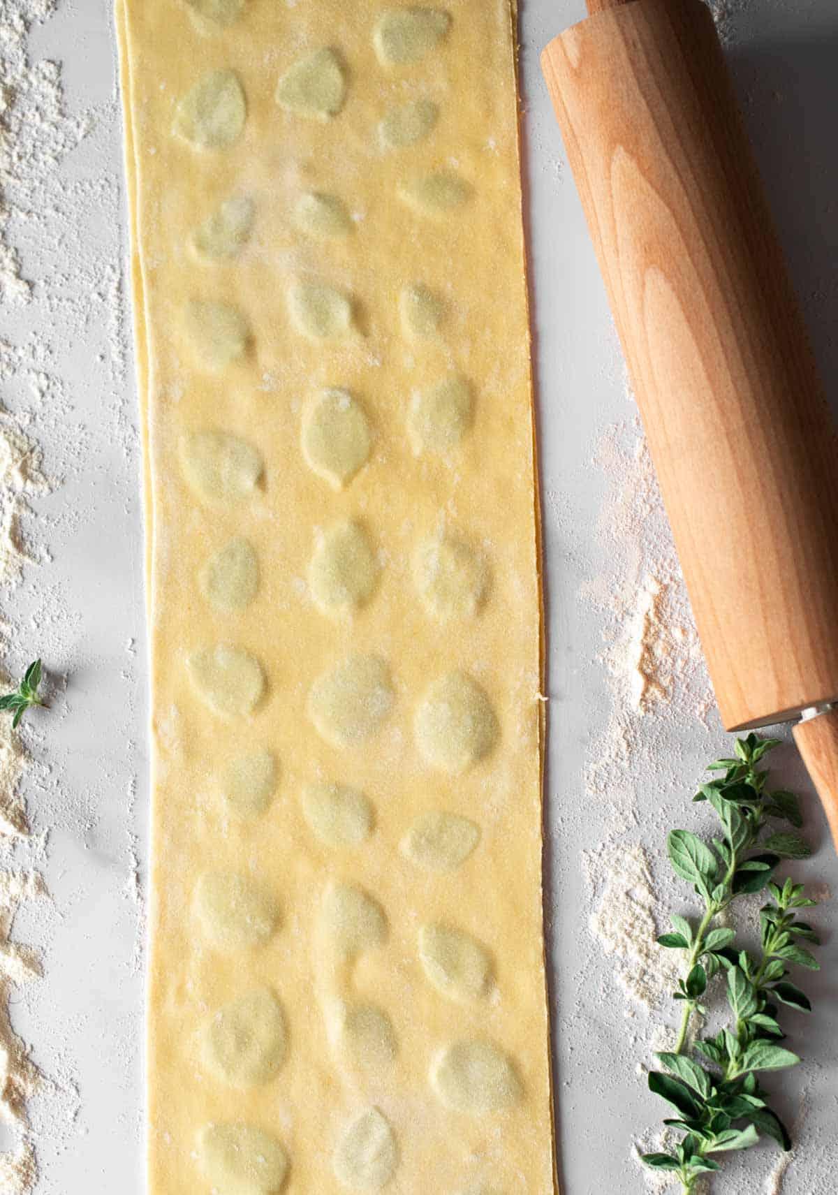 Image: vegan laminated pasta